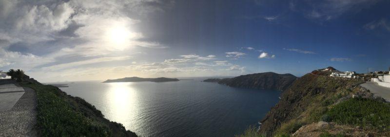 one day in Santorini