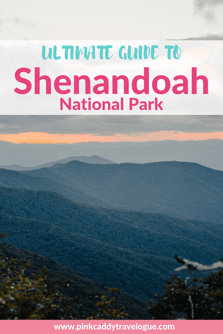 Shenandoah National Park is the perfect East Coast getaway. This guide will provide you with everything you need for your first visit to the park #virginia #shenandoahnationalpark #blueridge