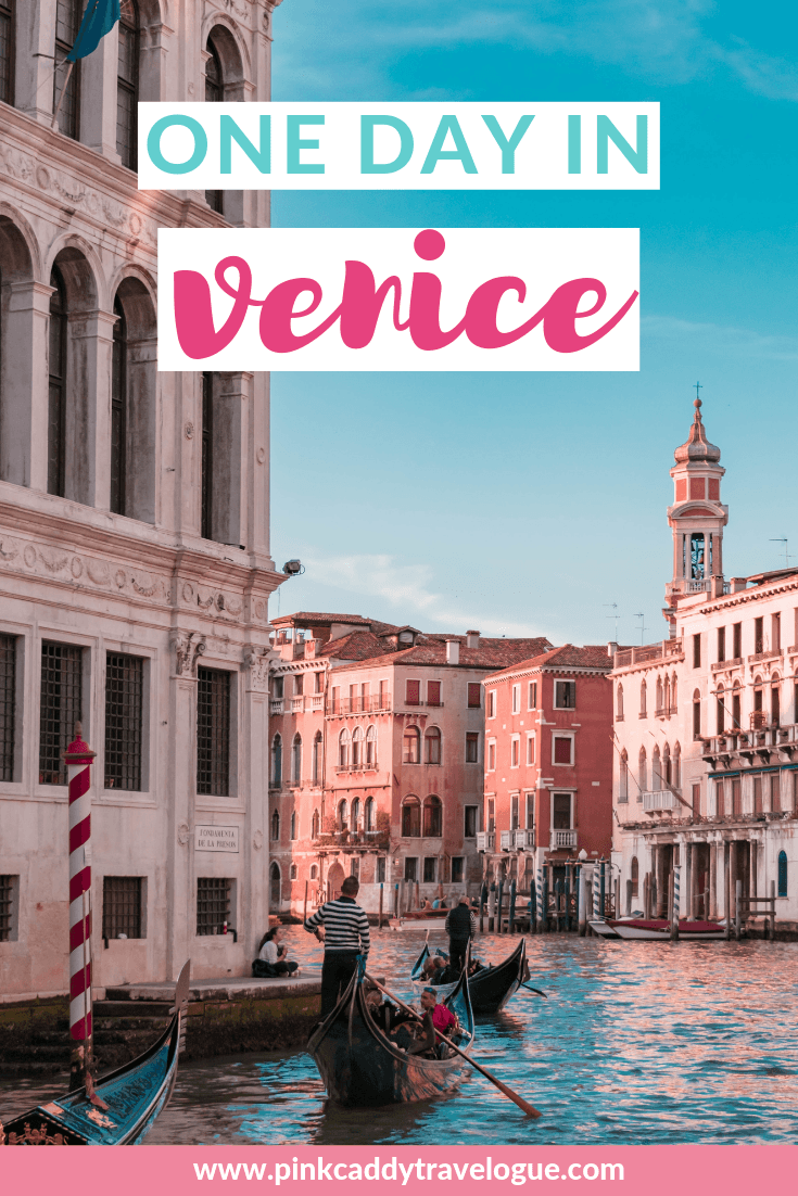 Only have a limited amount of time in Italy's floating city? Then check out my itinerary for one day in Venice! #venice #travel #italy #itinerary