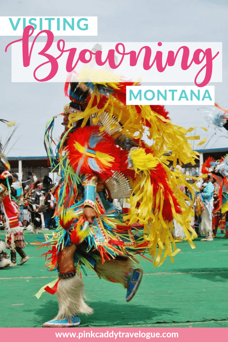 Browning, Montana is just outside of Glacier National Park! While most people have never heard of it, Browning is the place you need to visit if you want to learn more about Native American culture. #glaciernationalpark #montana #usa #travel #nationalparks #nativeamerican
