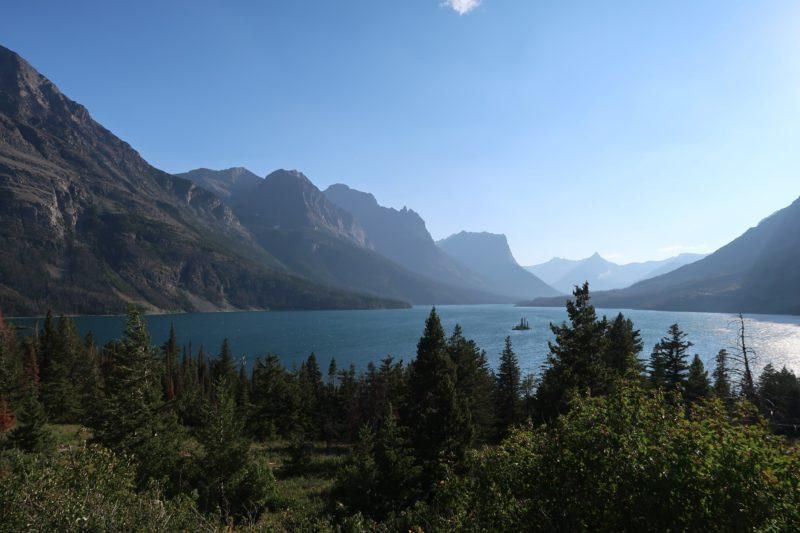 glacier national park itinerary
