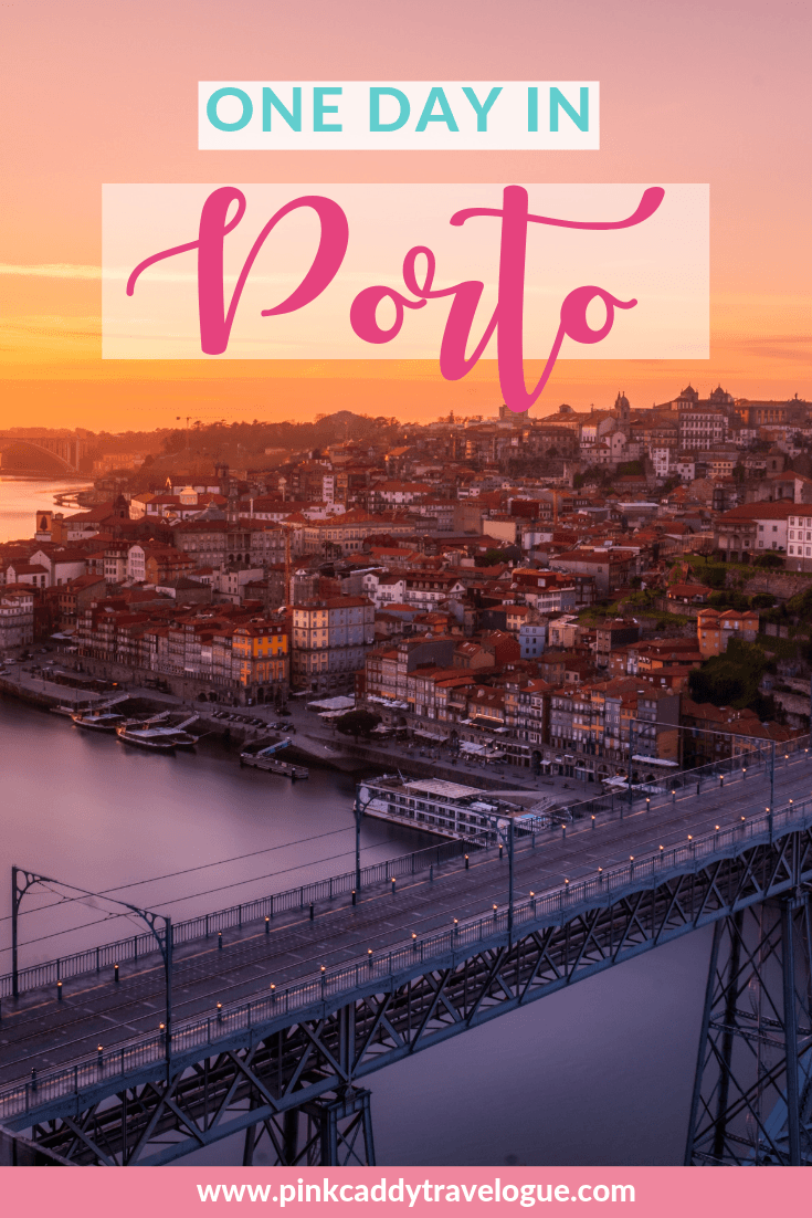 Only have one day in Porto? This itinerary will help you make the most of your time in Portugal's second largest city! #portugal #porto #travel #europe #port #itinerary
